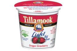 Tillamook light strawberry yogurt