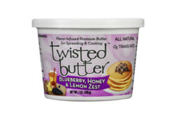 Twisted butter