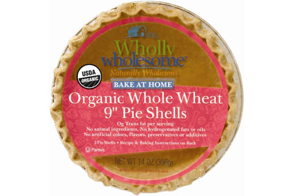 Wholly Wholesome pie shells