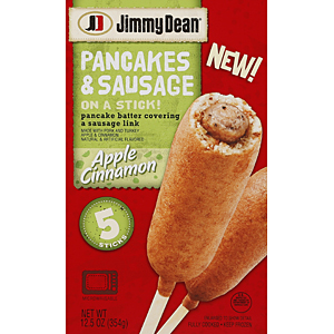 Jimmy Dean pancakes sausage on stick