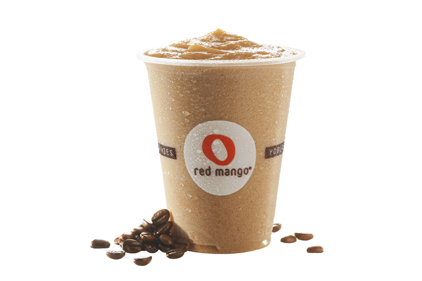 Red Mango frozen coffee chillers