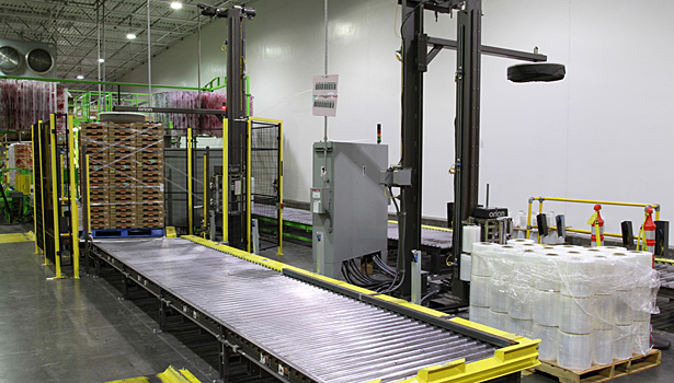 Driscoll's wrapping lines at Watsonville facility