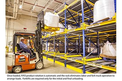 General Mills Optimizes Pallet Flow Pushback Rack Storage