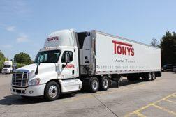 Tony's Fine Foods truck