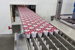 Chobani yogurt line
