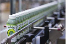 Evolution Fresh Juice on conveyor