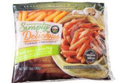 Grimmway Farms frozen petite carrots