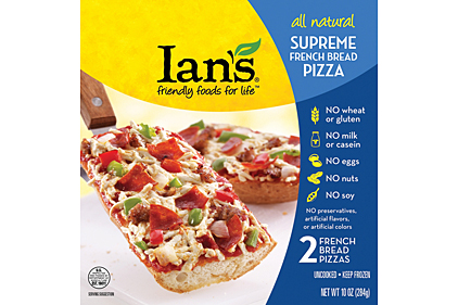 Ians French bread pizza