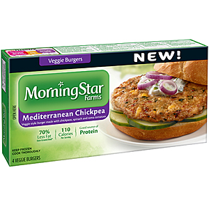 MorningStar meatless sandwiches
