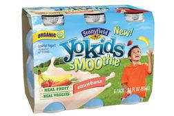 Stonyfield YoKids smoothies