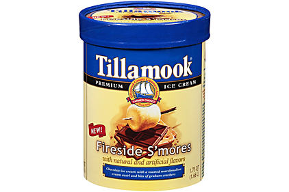 Tillamook Fireside Smores ice cream