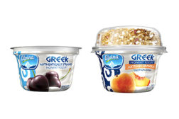 Alpina Greek yogurt with granola