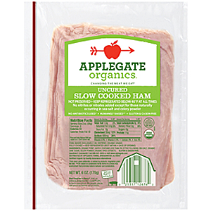 Applegate slow cooked ham