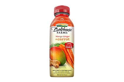 Bolthouse Farms Mango Ginger Carrot juice