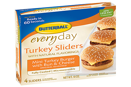 Butterball turkey sliders