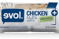 EVOL chicken burritos