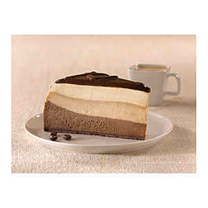 Eli's Cheesecake Chocolate Espresso slice