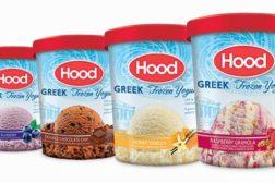 HP hood frozen yogurt