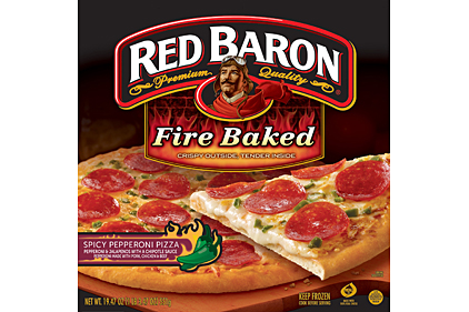 Red Baron fire baked pizza