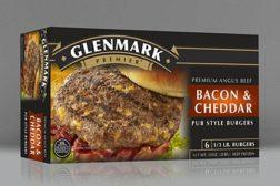 Glenmark bacon cheddar burger