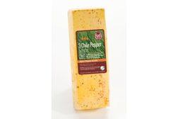 3 Chile Pepper Gouda cheese