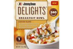 Jimmy Dean Garden Delights breakfast bowl