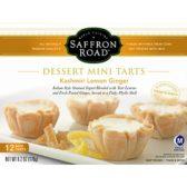 Saffron Road mini dessert tarts