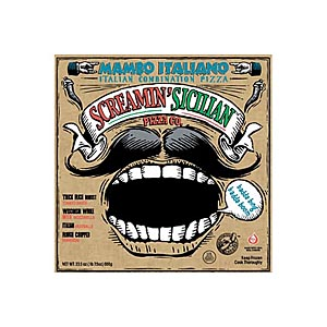 Screamin' Sicilian pizza