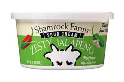 Shamrock Farms flavored sour cream