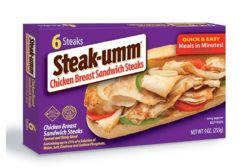 Steak-Umm chicken sandwich