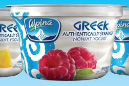 Alpina Greek yogurt lineup