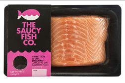 Saucy fish filet