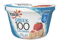 Yoplait strawberry cheesecake yogurt