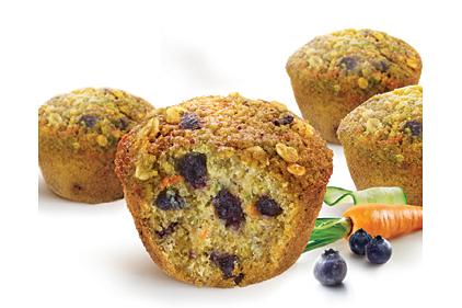 Frozen veggie muffins 2014 04 10 refrigerated frozen food - Garden lites blueberry oat muffins ...