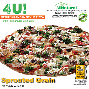 Better 4 U sprouted grain pizza inbody
