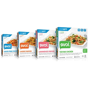 EVOL lean and fit frozen dinners inbody