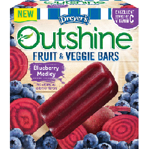 Edys Outshine fruit and veggie bars