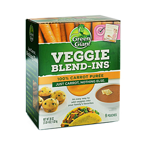 Green Giant vegetable blend-ins