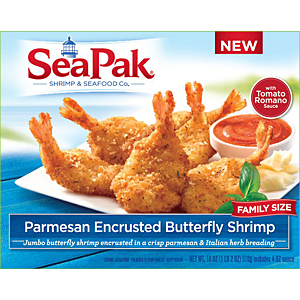 SeaPak butterfly shrimp inbody