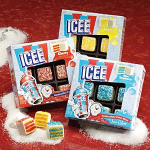Swiss Colony ICEE cake bites
