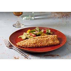 Clear Springs tortilla crusted trout