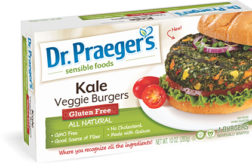 Dr Praegers kale veggie burger