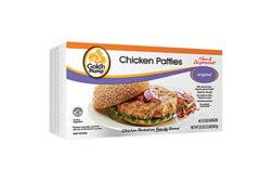 Goldn Plump chicken patties