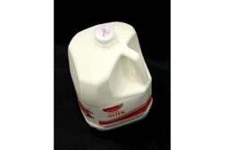 BGC pink ribbon on milk caps