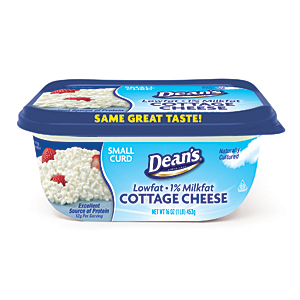 Deans small curd cottage cheese