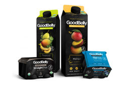 GoodBelly beverage packaging