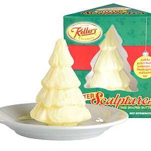 Kellers butter sculptures