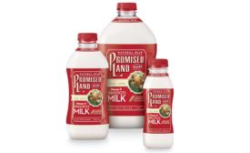 Promised Land Dairy milk bottles