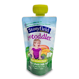 Stonyfield pouch