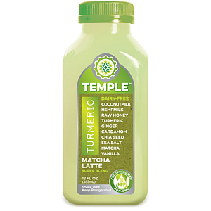 Temple Turmeric cold-pressed juice